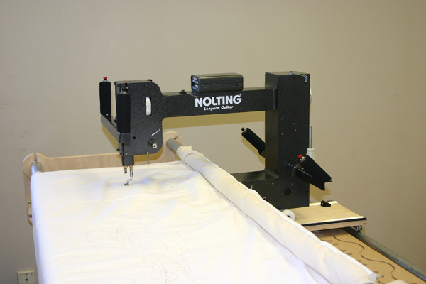 Fun Quilter 174 By Nolting Manufacturing The Compact Longarm For Tabletop Quilting Frames