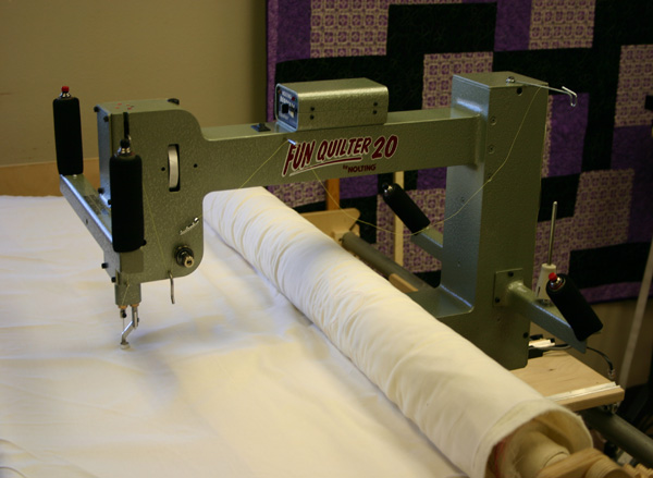 Fun Quilter 174 By Nolting Manufacturing The Compact Longarm